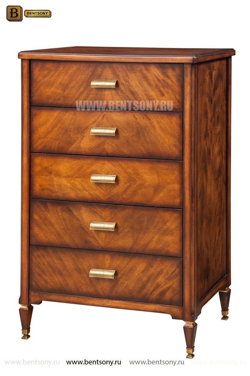Комод высокий Фримонт (Массив дерева, классика) каталог мебели