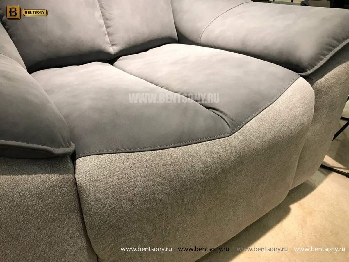 Кресло Портаро с реклайнером (Алькантара) каталог мебели