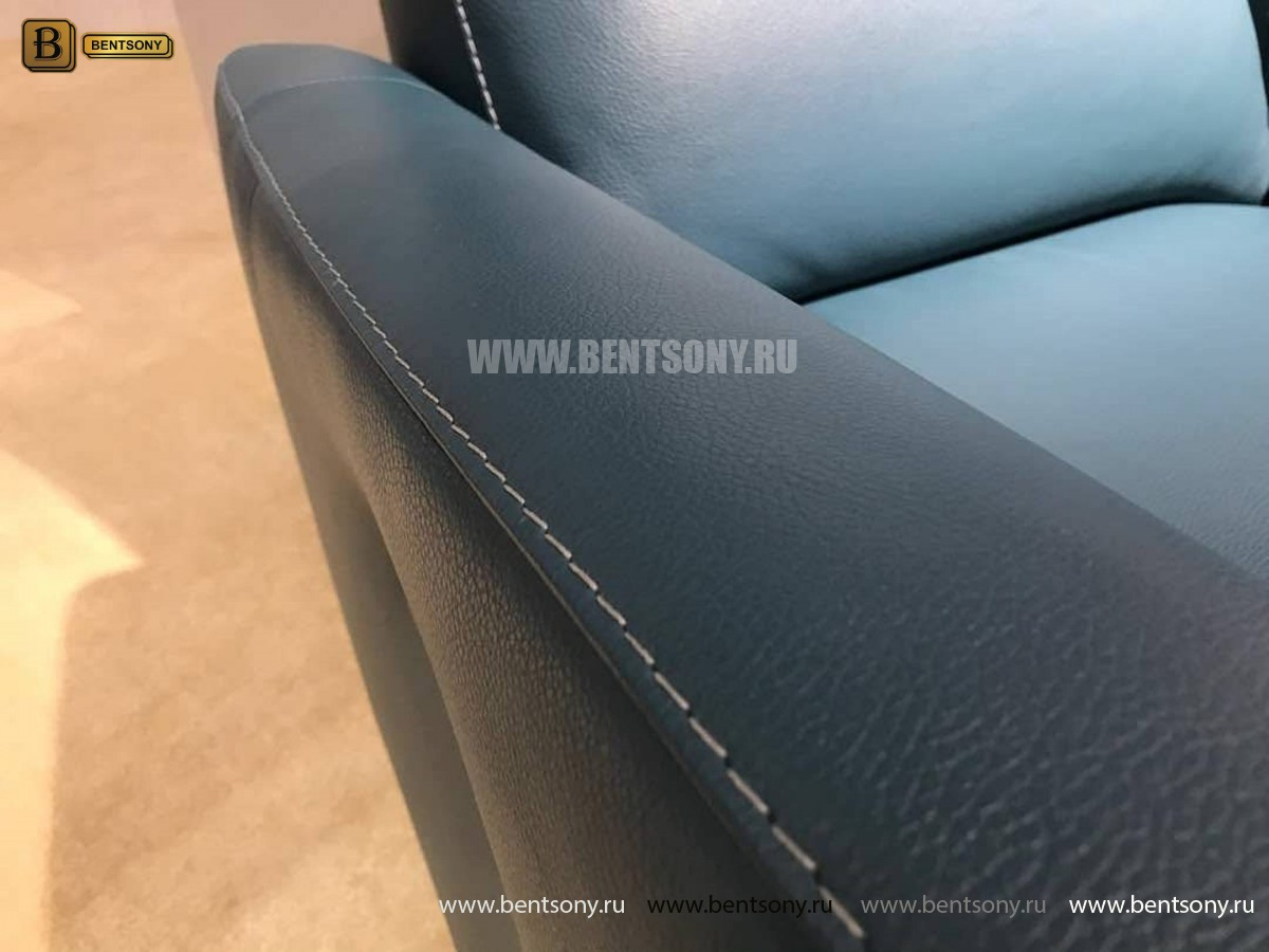 Кресло Бокко (Реклайнер, Натуральная кожа) каталог мебели с ценами