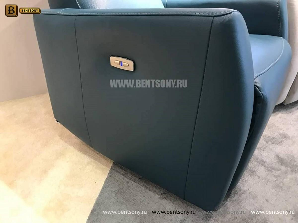 Кресло Бокко (Реклайнер, Натуральная кожа) интернет магазин