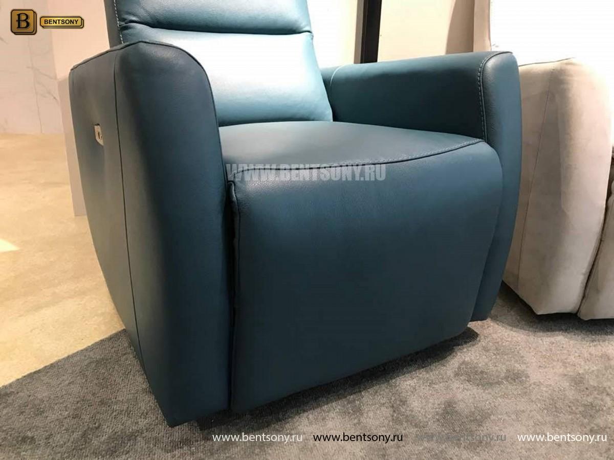 Кресло Бокко (Реклайнер, Натуральная кожа) для загородного дома