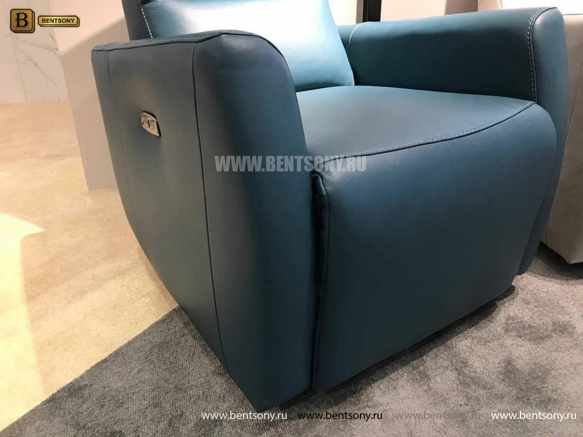 Кресло Бокко (Реклайнер, Натуральная кожа) для квартиры