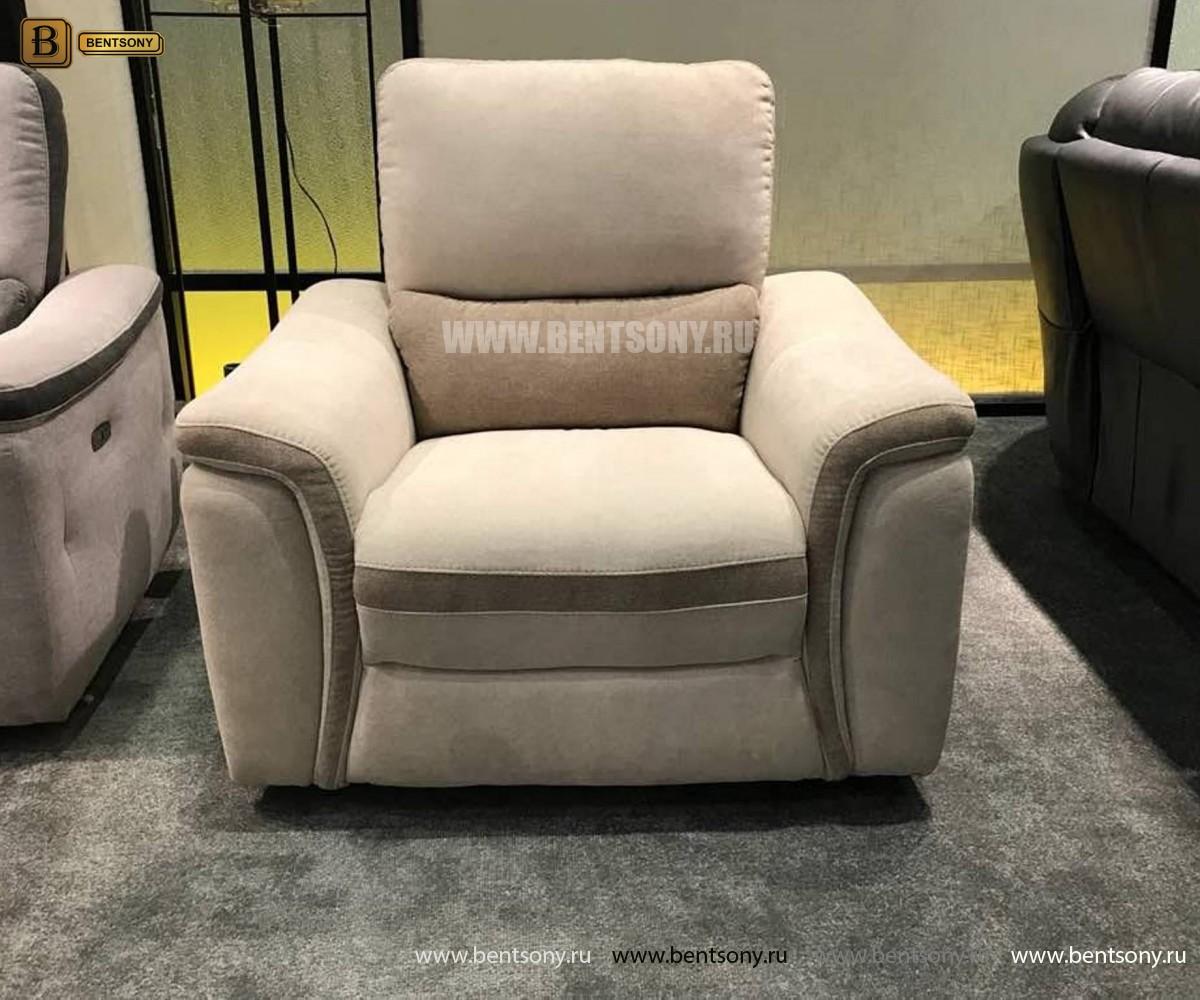 Кресло Фатто с реклайнером (Алькантара) изображение
