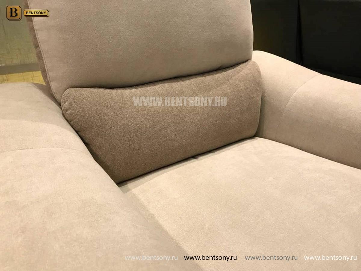 Кресло Фатто с реклайнером (Алькантара) фото