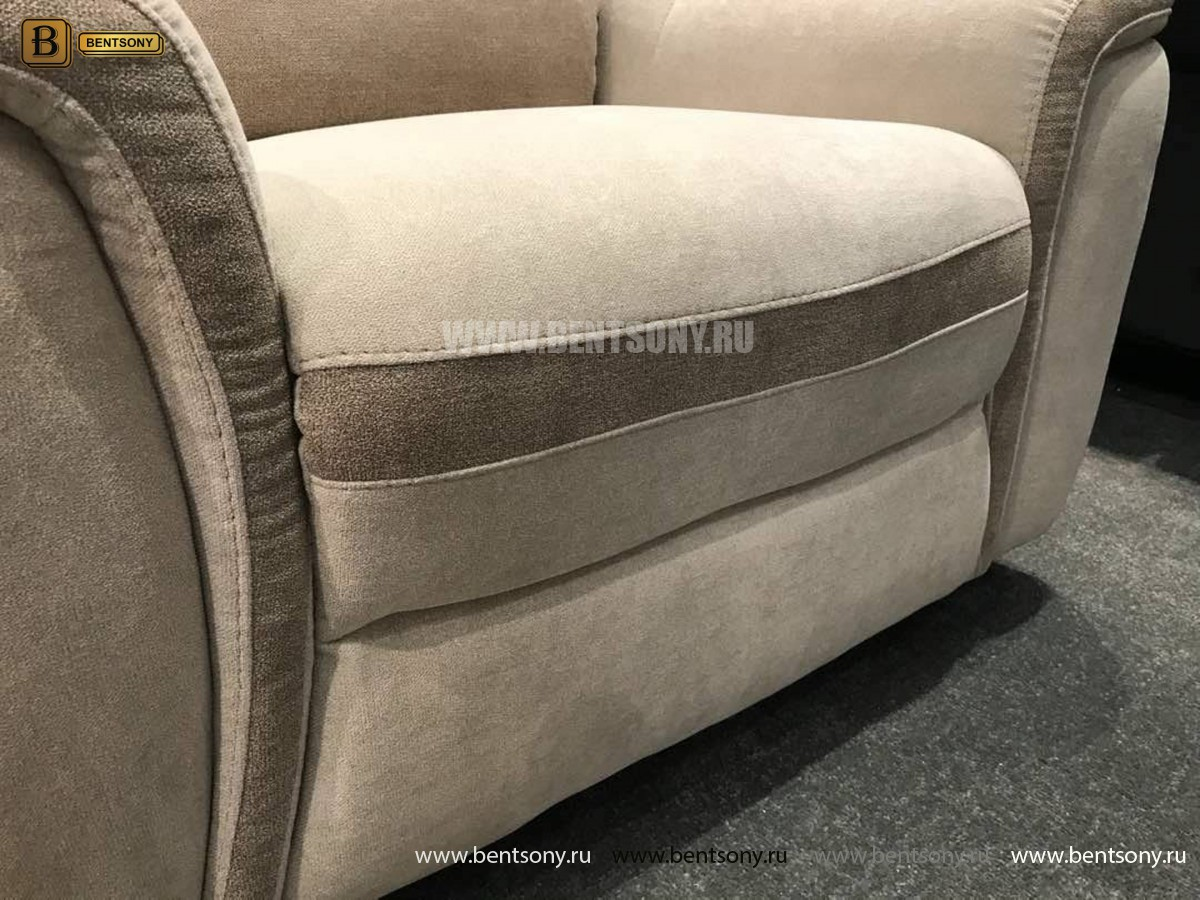 Кресло Фатто с реклайнером (Алькантара) распродажа