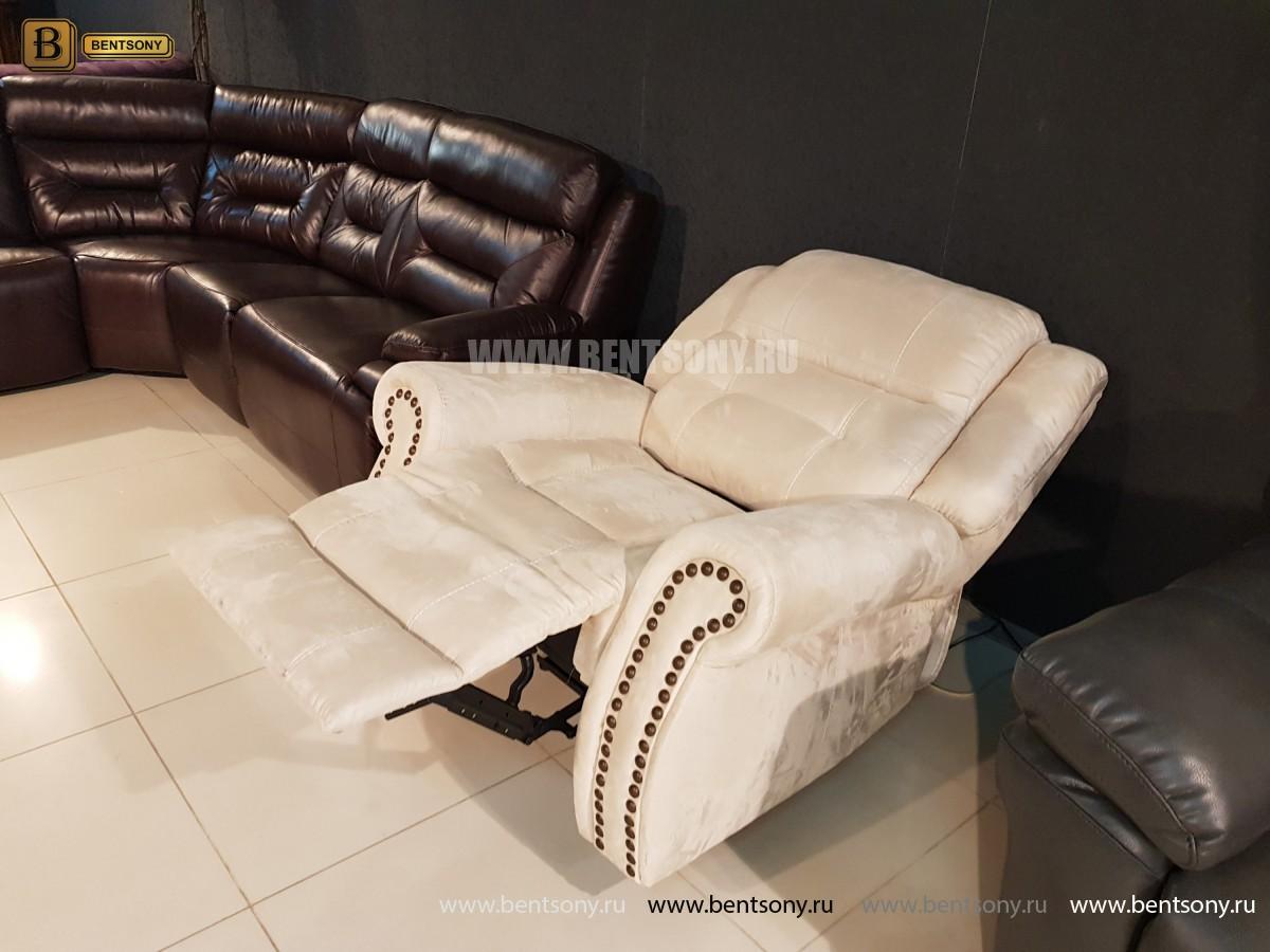 Кресло Локсли (Реклайнер, алькантара) изображение