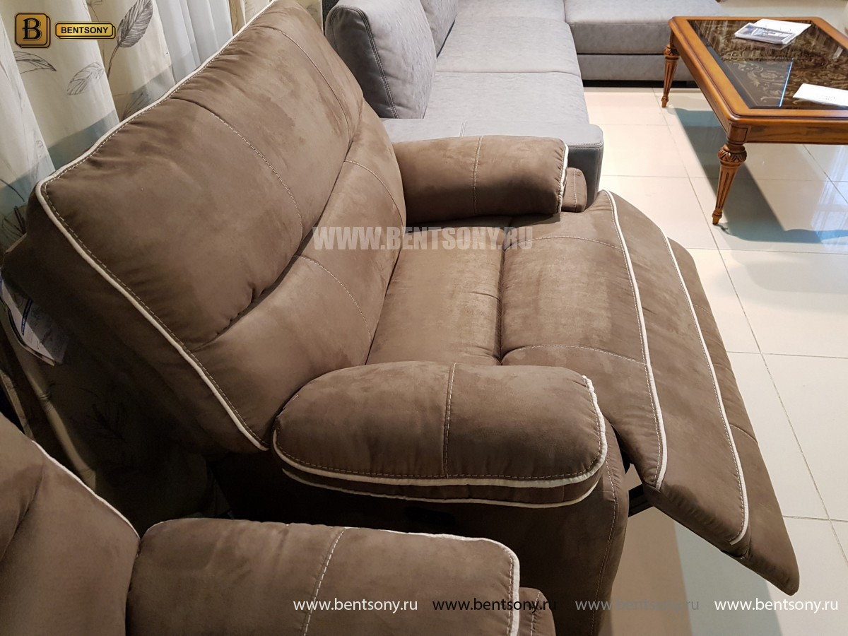 Кресло Терамо (Реклайнер, Ткань) каталог с ценами