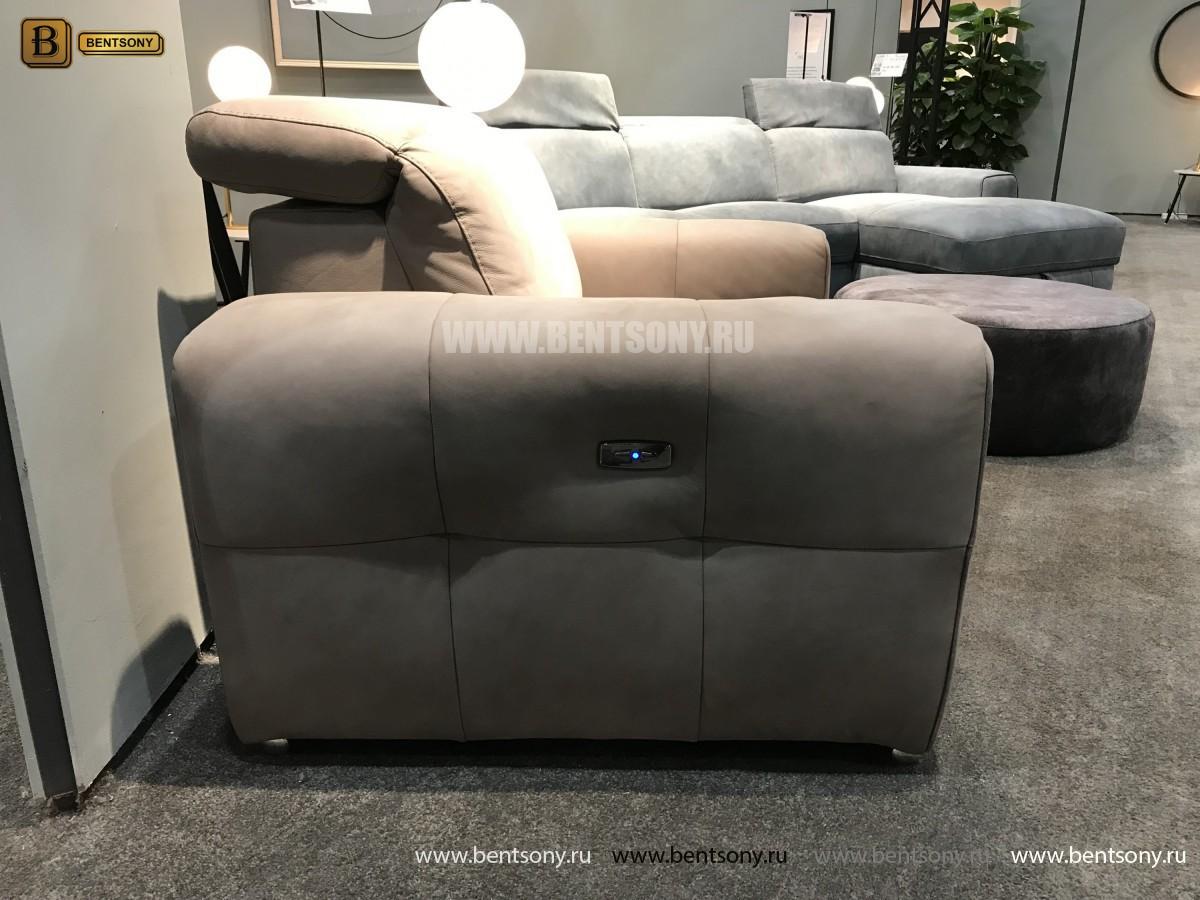 Кресло Тезоро с Реклайнером в интерьере