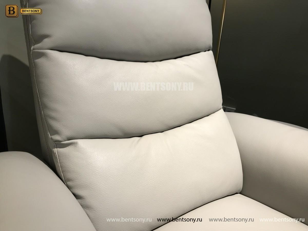Кресло Гредос (Реклайнер, Натуральная Кожа) купить в Москве