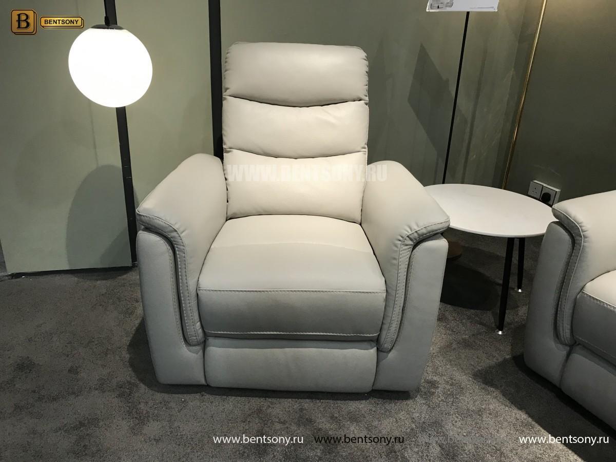 Кресло Гредос (Реклайнер, Натуральная Кожа) для квартиры