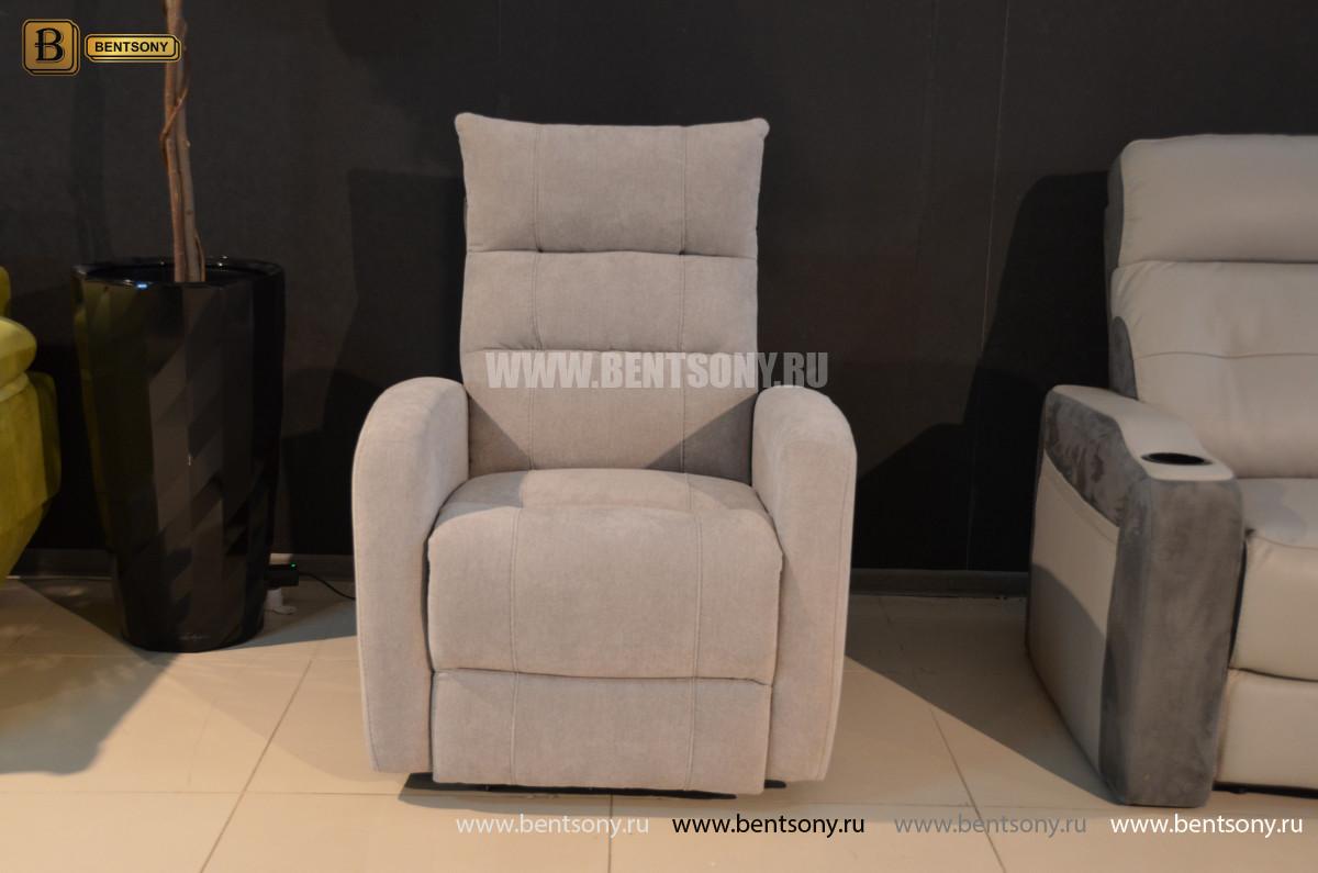 Кресло Лаваль с реклайнером (Алькантара) фото