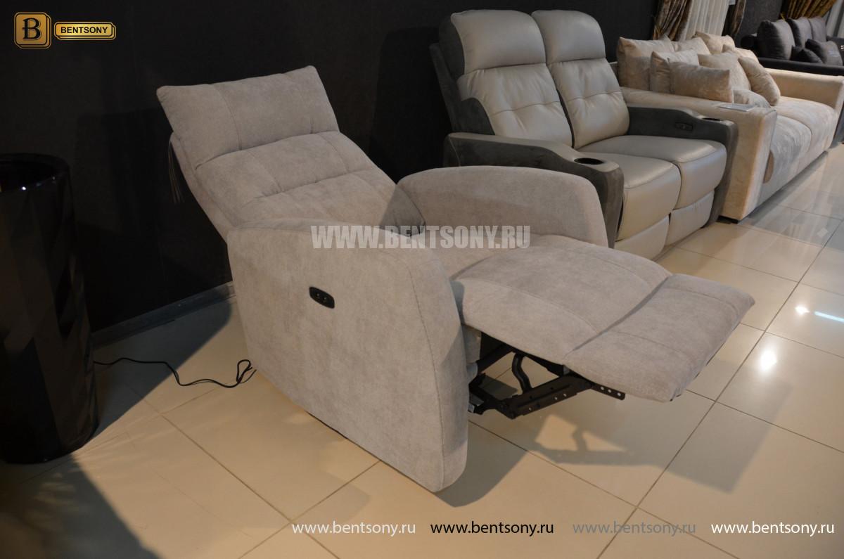 Кресло Лаваль с реклайнером (Алькантара) цена