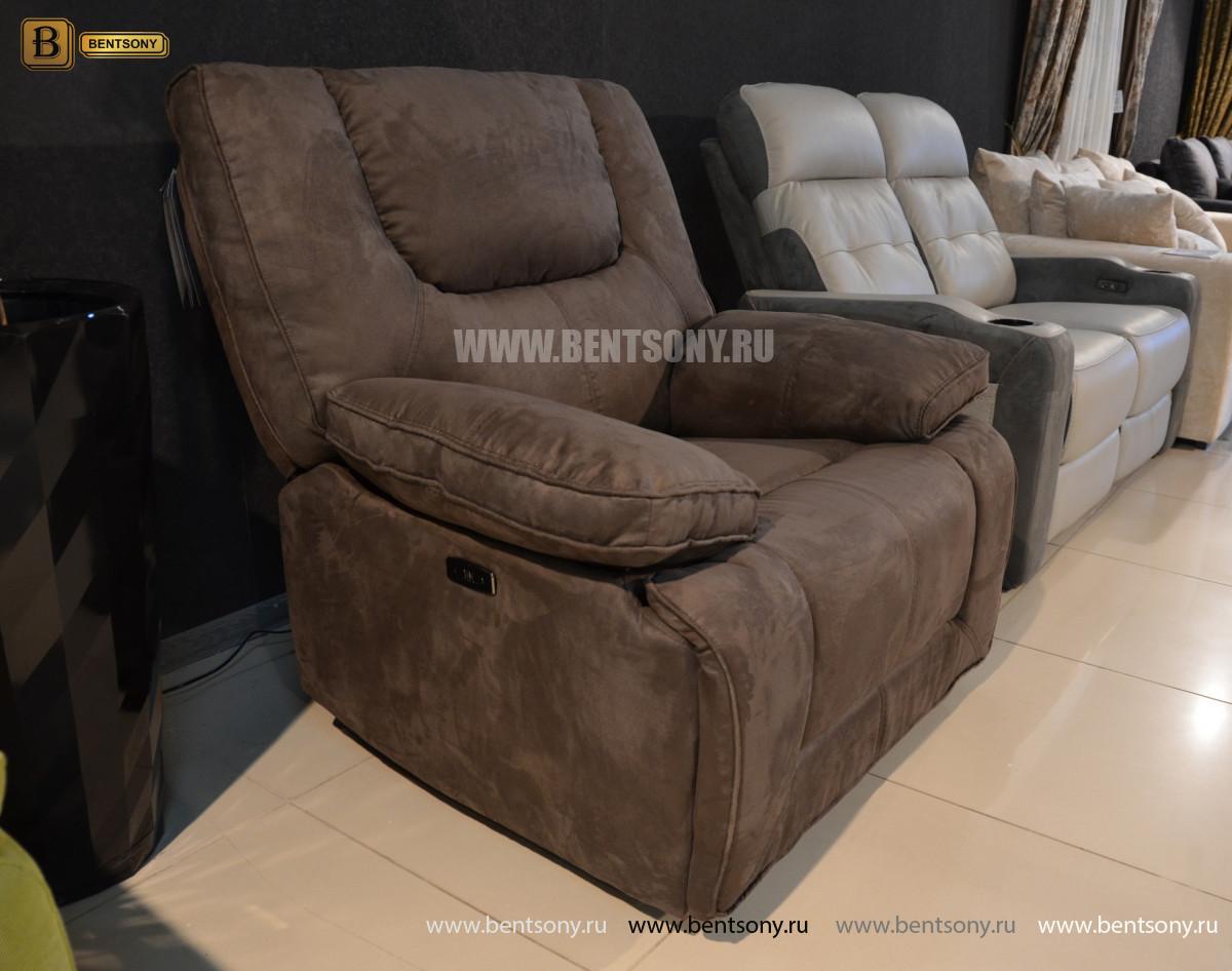 Кресло Прецо с реклайнером, глайдер (Ткань) каталог мебели