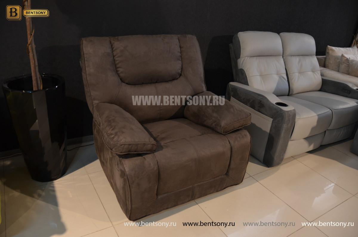 Кресло Прецо с реклайнером, глайдер (Ткань) купить в СПб