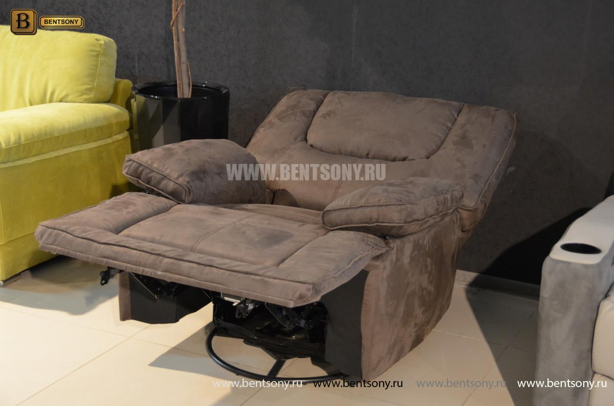 Кресло Прецо с реклайнером, глайдер (Ткань) в СПб