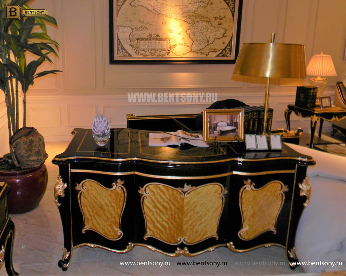 Письменный стол Конкорд (Массив дерева, классика) купить в Москве