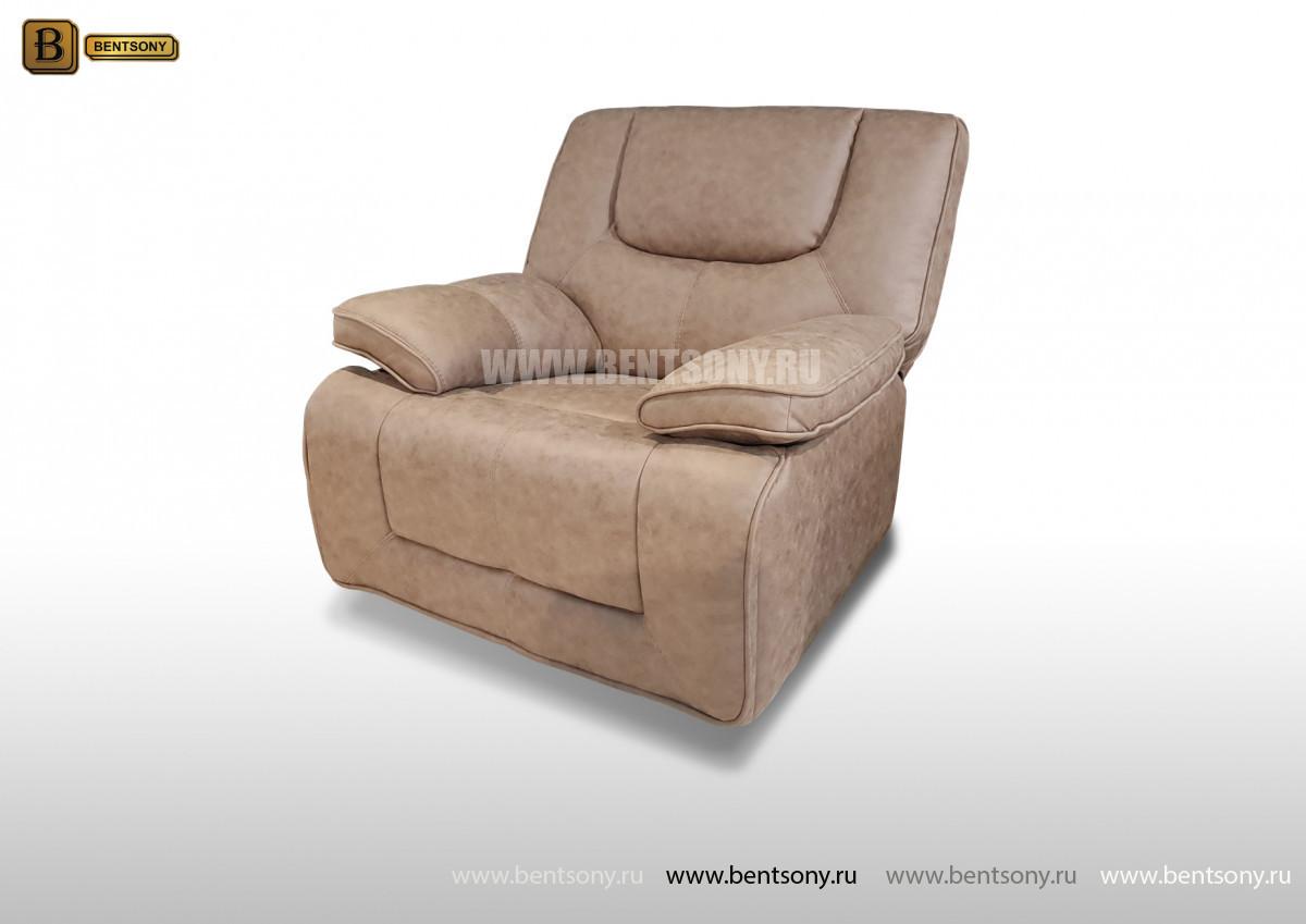 Кресло Прецо с реклайнером, глайдер (Механизм качания, Ткань) изображение