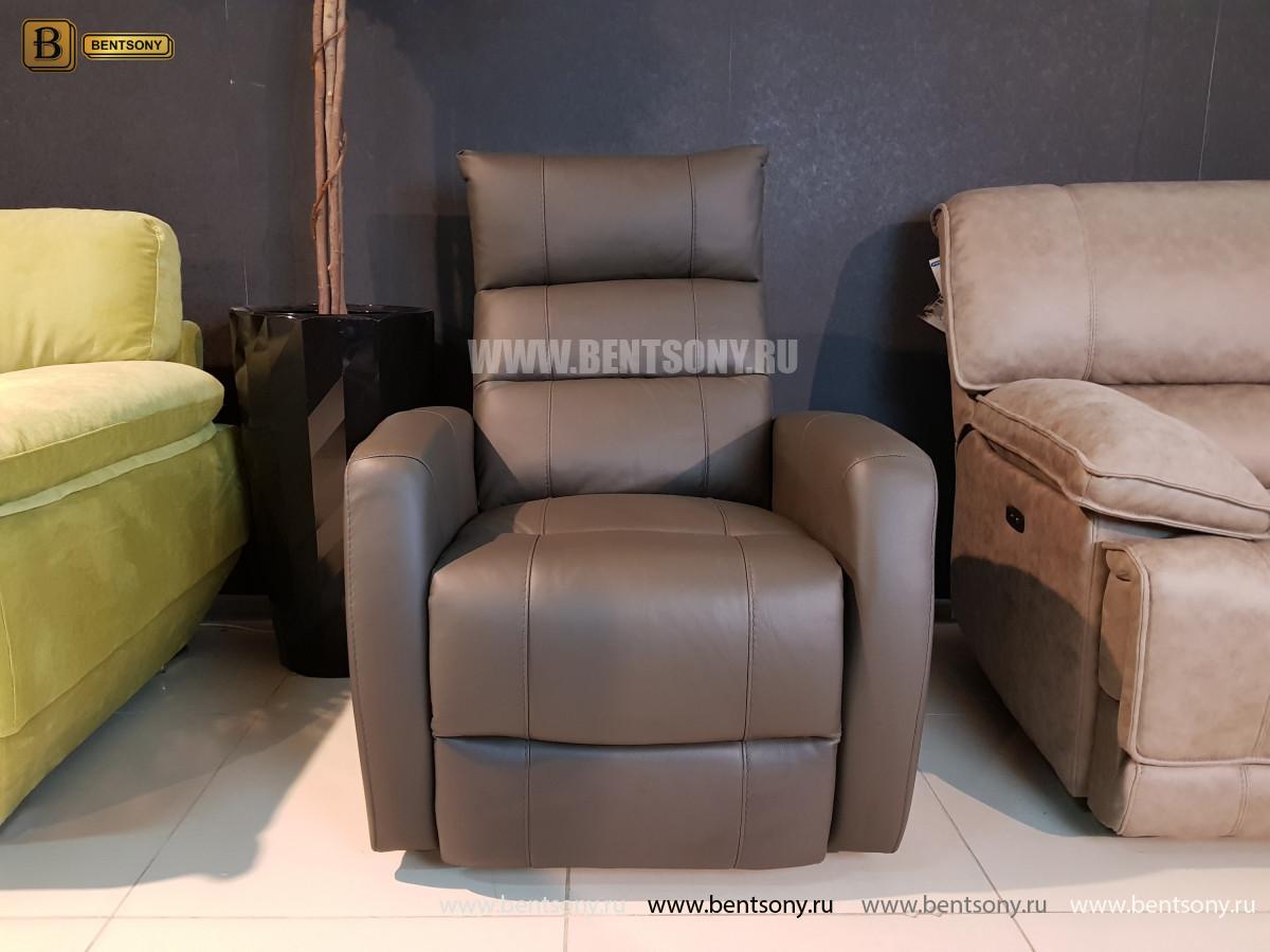 Кресло Лаваль (Реклайнер, Натуральная кожа) купить