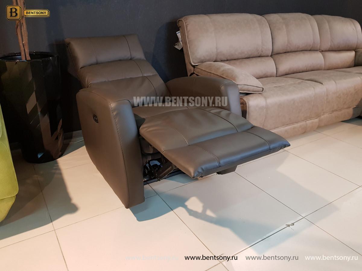 Кресло Лаваль (Реклайнер, Натуральная кожа) официальный сайт цены