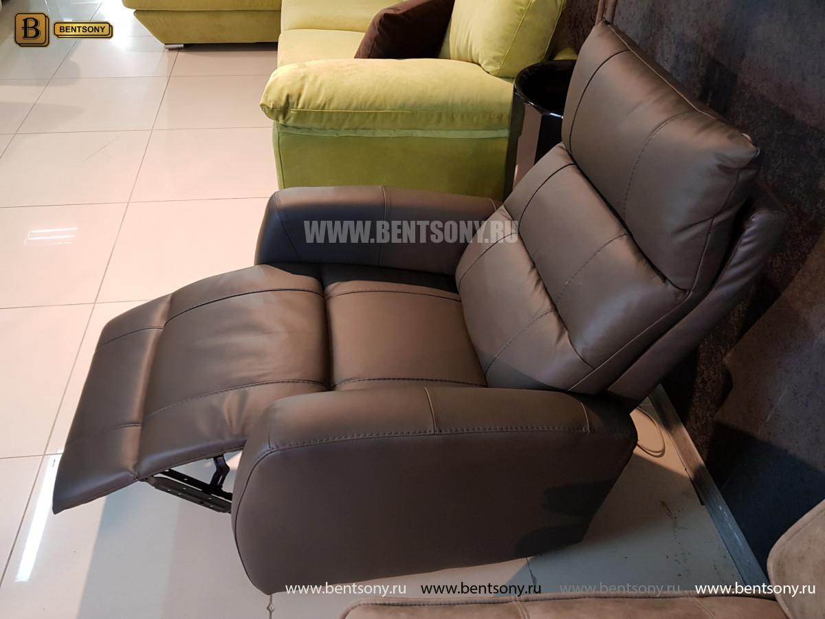 Кресло Лаваль (Реклайнер, Натуральная кожа) каталог мебели с ценами