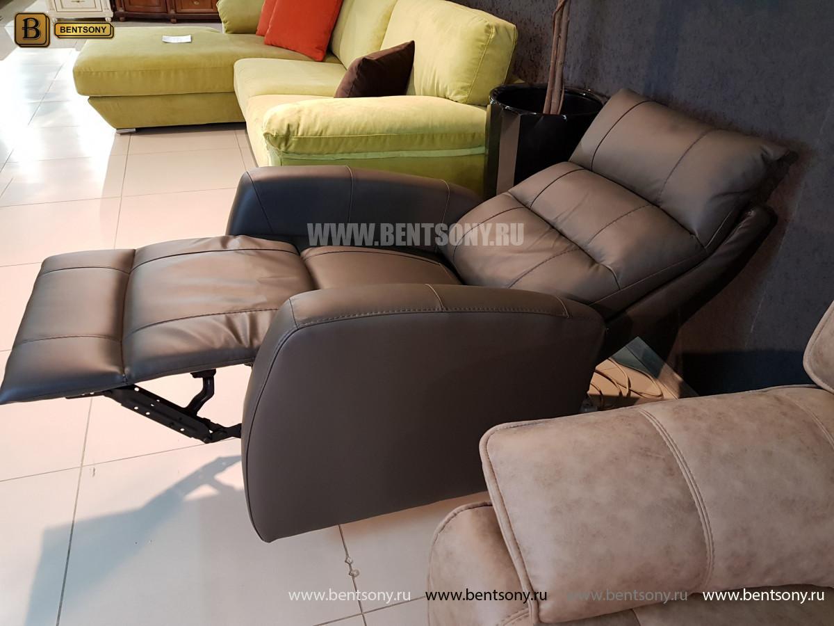 Кресло Лаваль с реклайнером (Натуральная кожа) интернет магазин