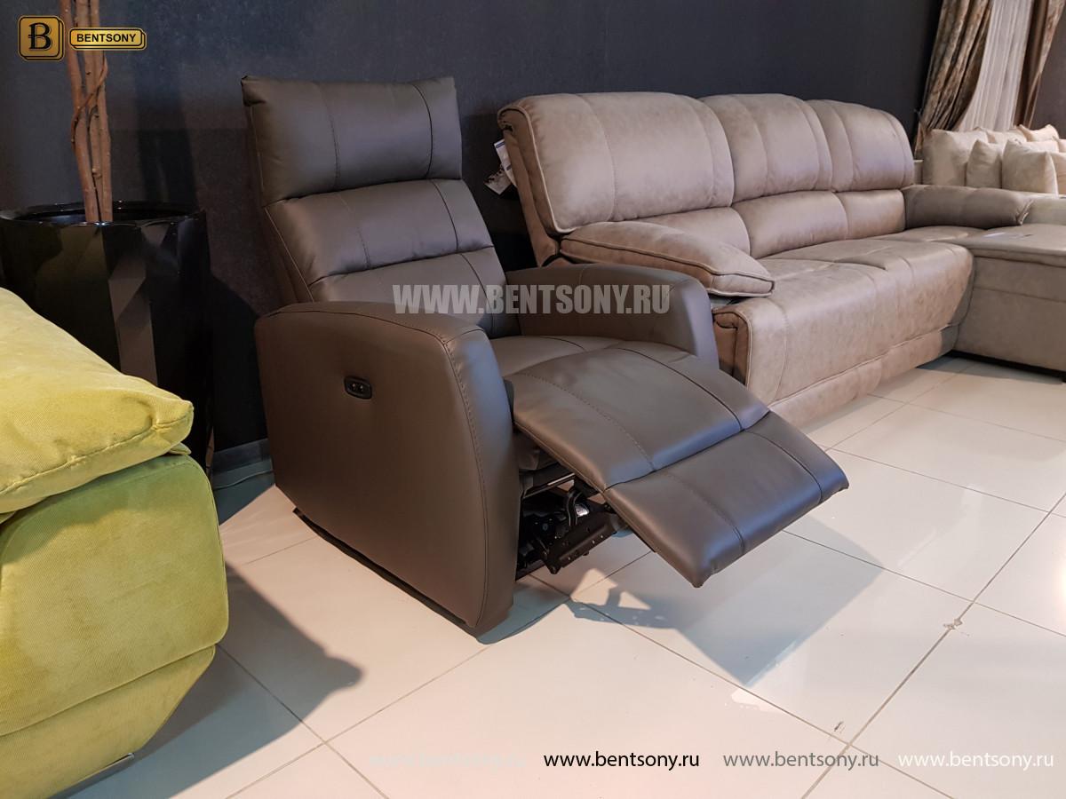 Кресло Лаваль с реклайнером (Натуральная кожа) цена