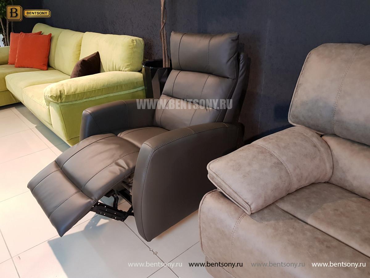 Кресло Лаваль с реклайнером (Натуральная кожа) каталог мебели