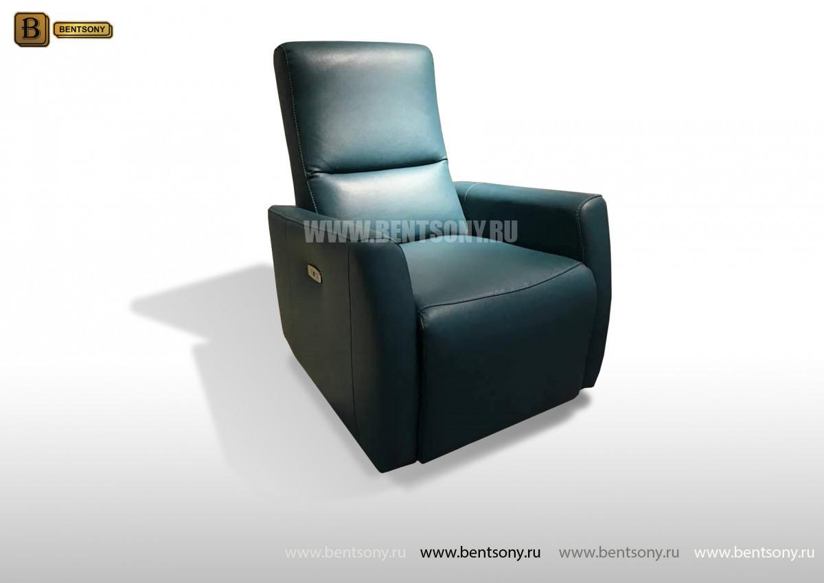 Кожаное Кресло Бокко (Реклайнер) для загородного дома
