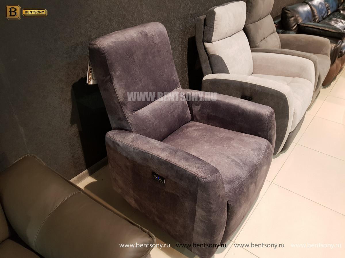 Кресло Бокко (Реклайнер, Ткань) каталог мебели