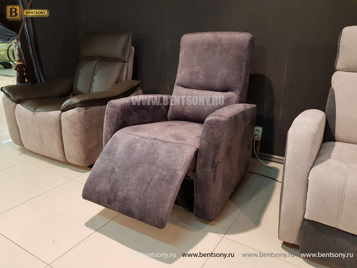 Кресло Бокко (Реклайнер, Ткань) для дома