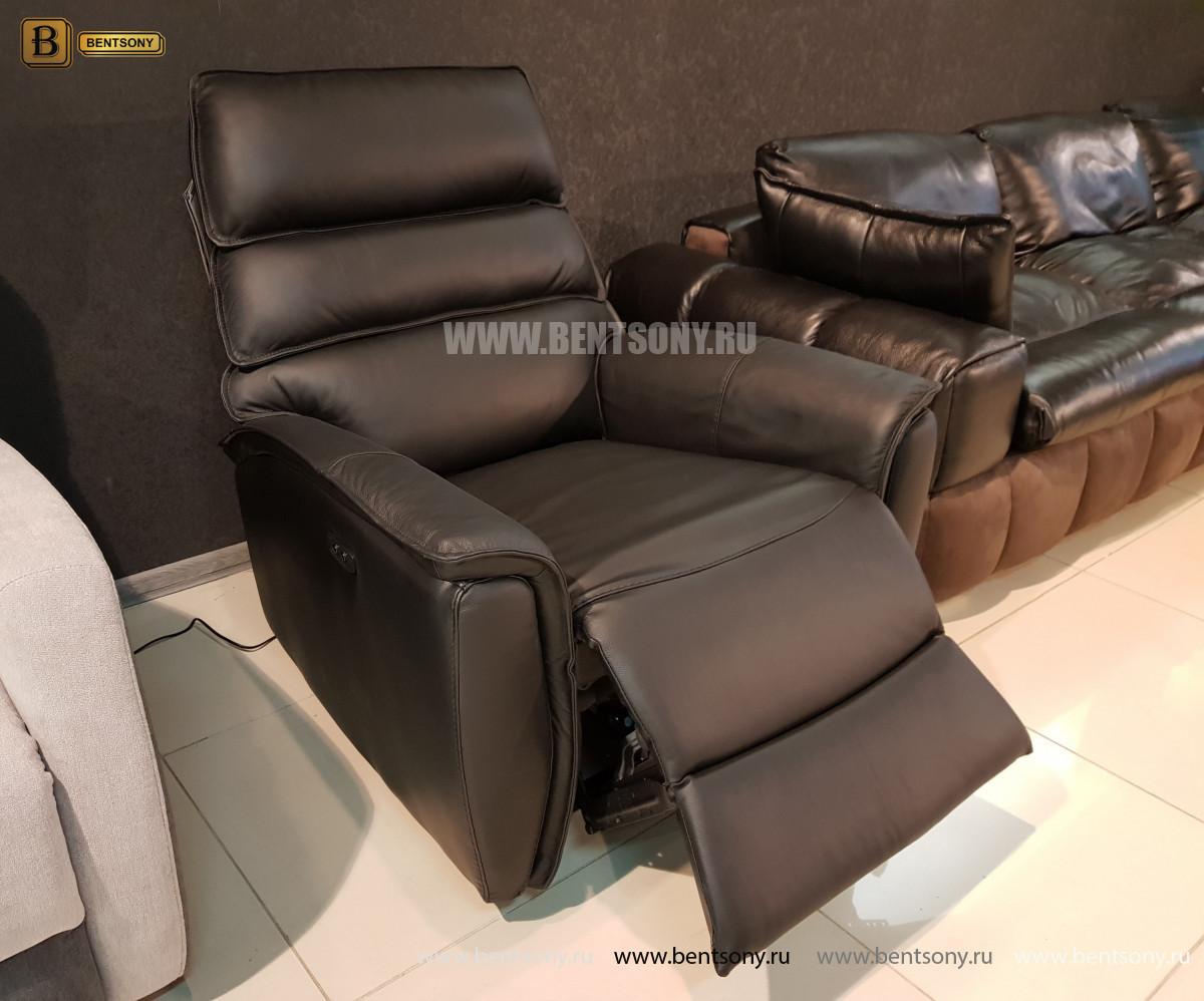 Кресло Фернандо с реклайнером (Натуральная кожа) цена