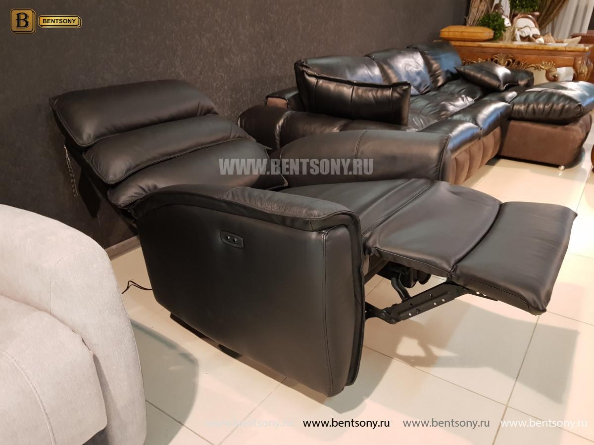 Кресло Фернандо с реклайнером (Натуральная кожа) каталог с ценами