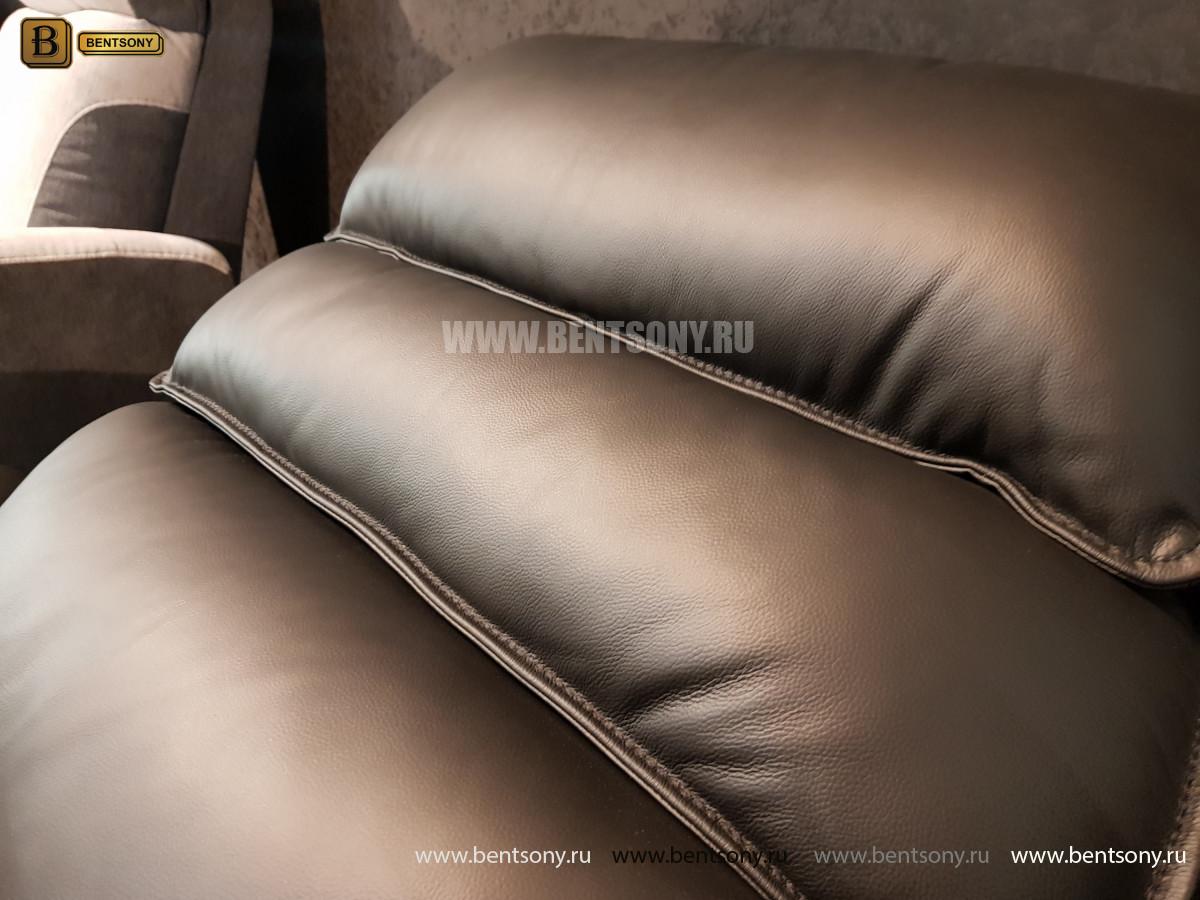 Кресло Фернандо с реклайнером (Натуральная кожа) в СПб