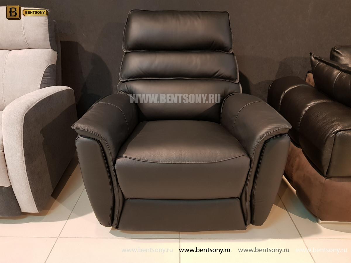 Кресло Фернандо с реклайнером (Натуральная кожа) каталог мебели