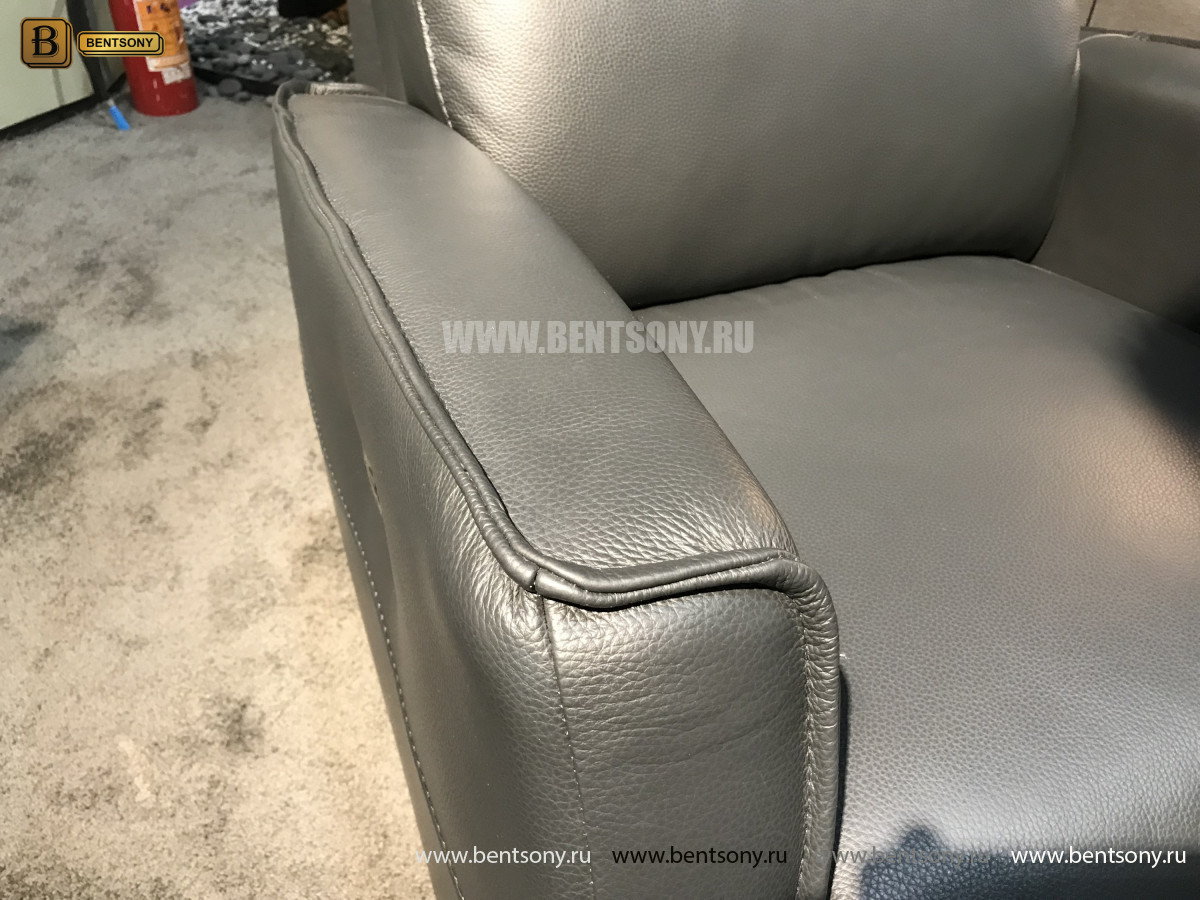 Кресло Вестито с реклайнером (Натуральная кожа) каталог