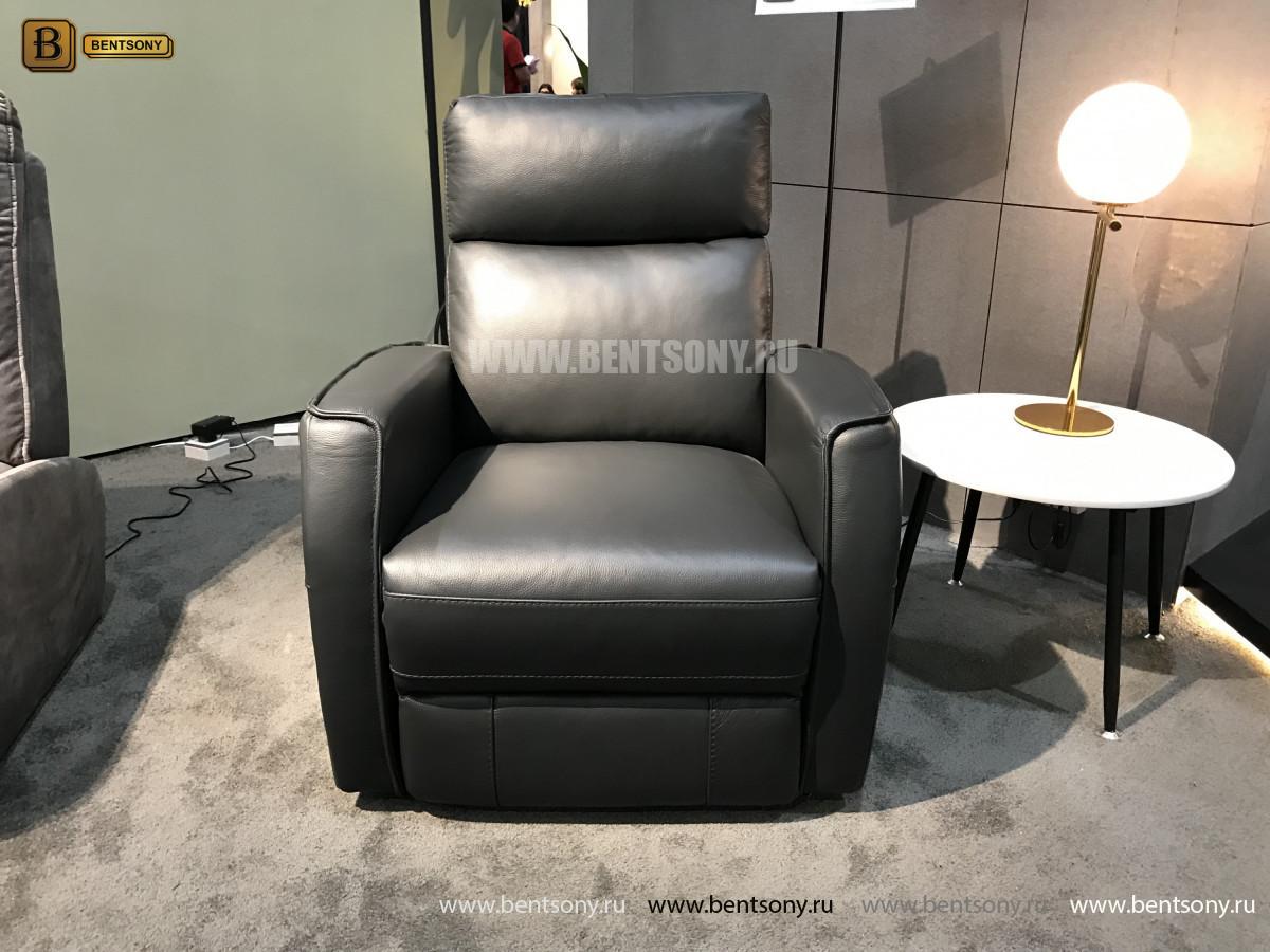 Кресло Вестито с реклайнером (Натуральная кожа) купить в Москве