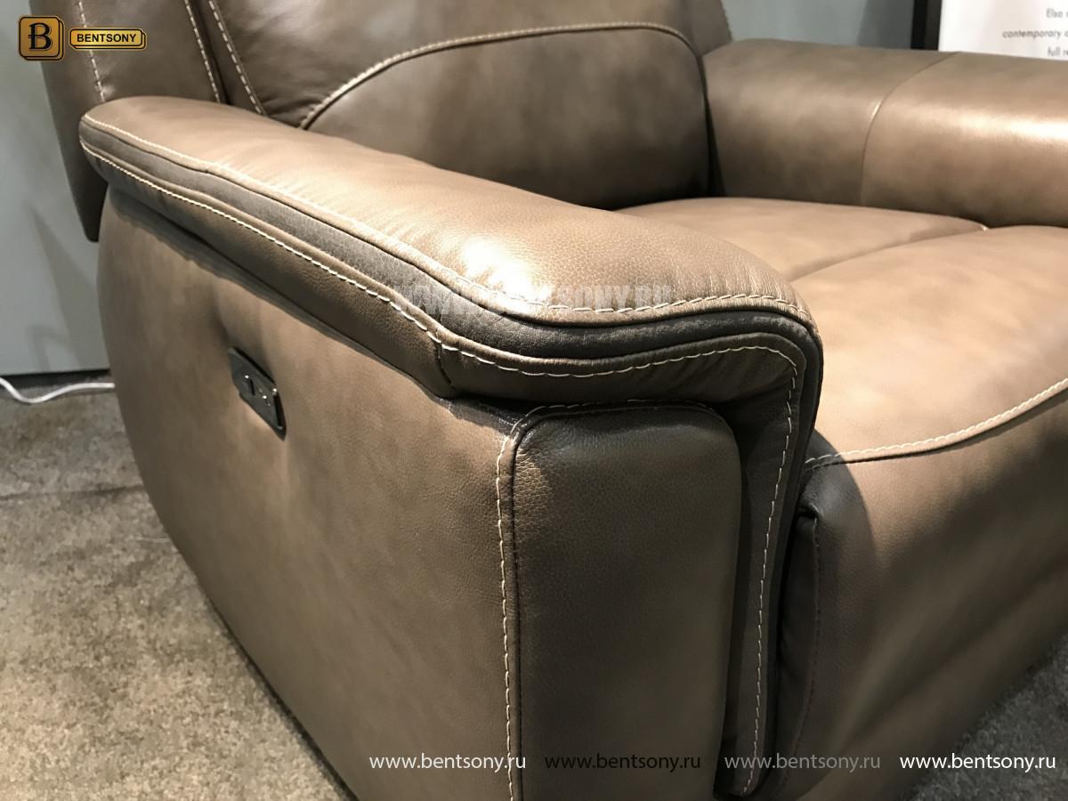 Кресло Инвитарио с реклайнером (Натуральная кожа) изображение