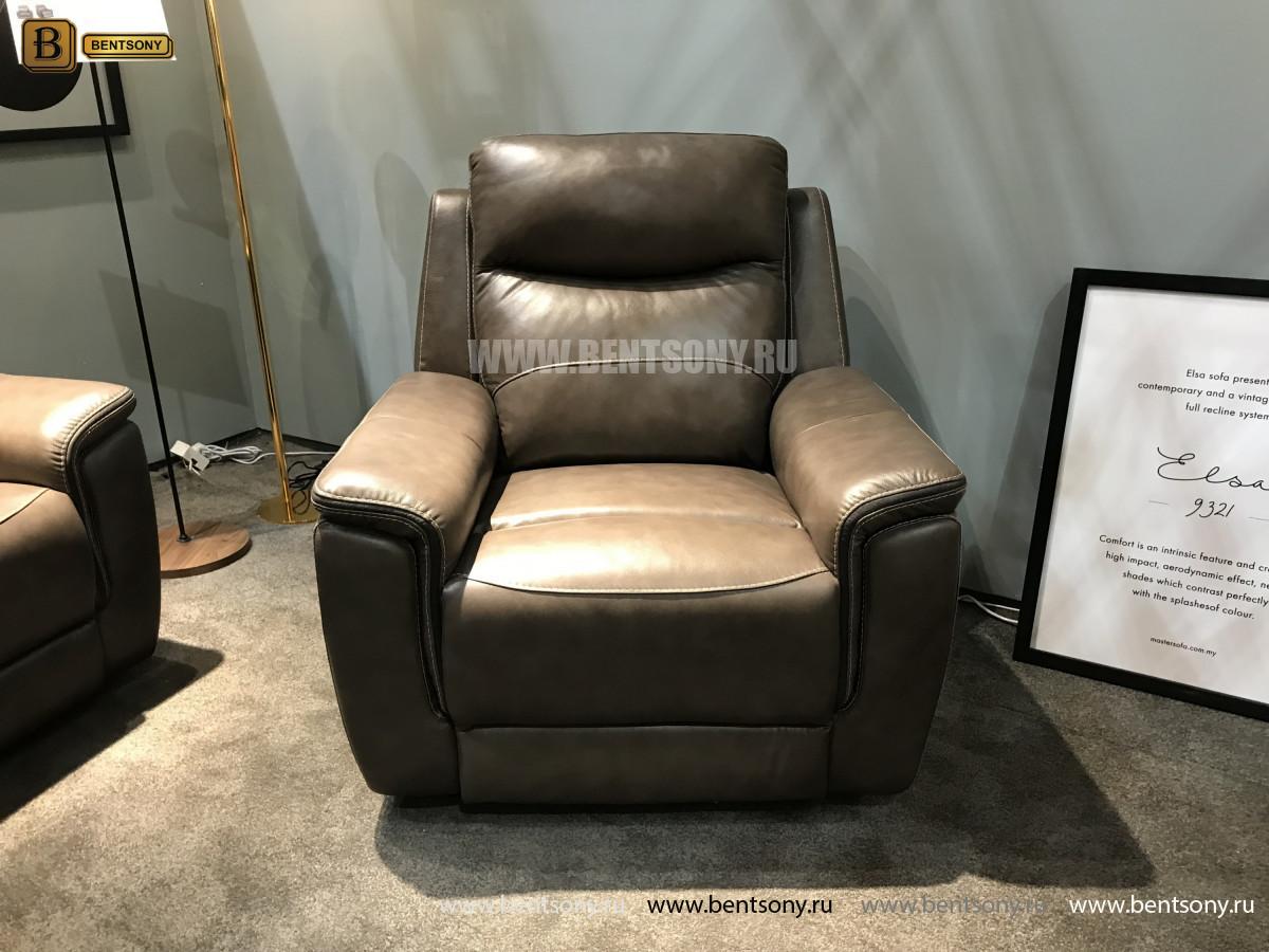 Кресло Инвитарио с реклайнером (Натуральная кожа) в СПб