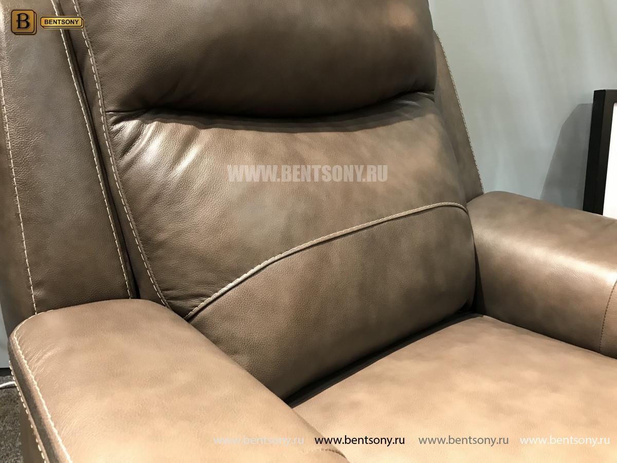 Кресло Инвитарио с реклайнером (Натуральная кожа) в интерьере