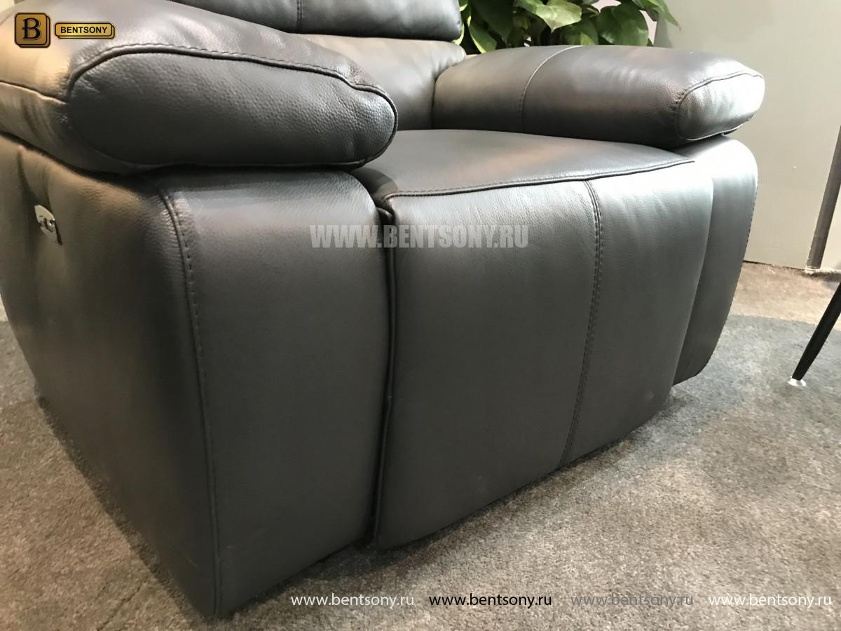 Кресло Соверето с реклайнером (Натуральная кожа) в СПб