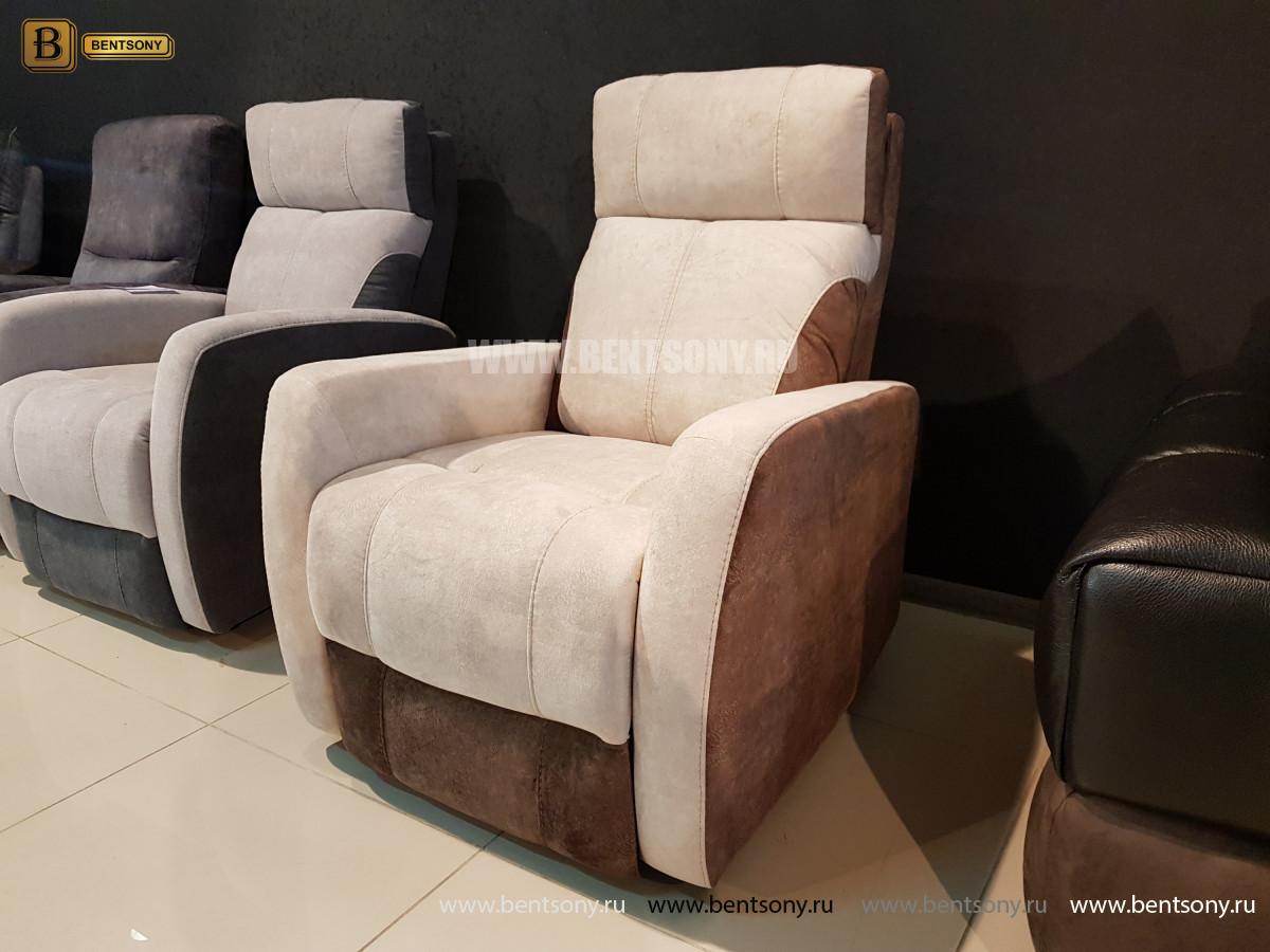 Кресло Эдвард с реклайнером (Алькантара) каталог с ценами