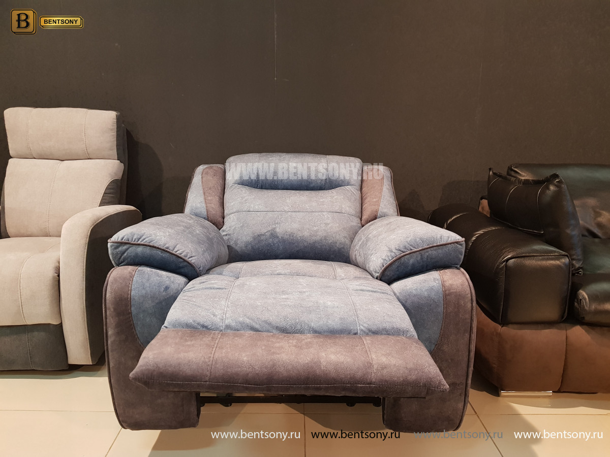 Кресло Аккордо (Ткань, реклайнер) магазин