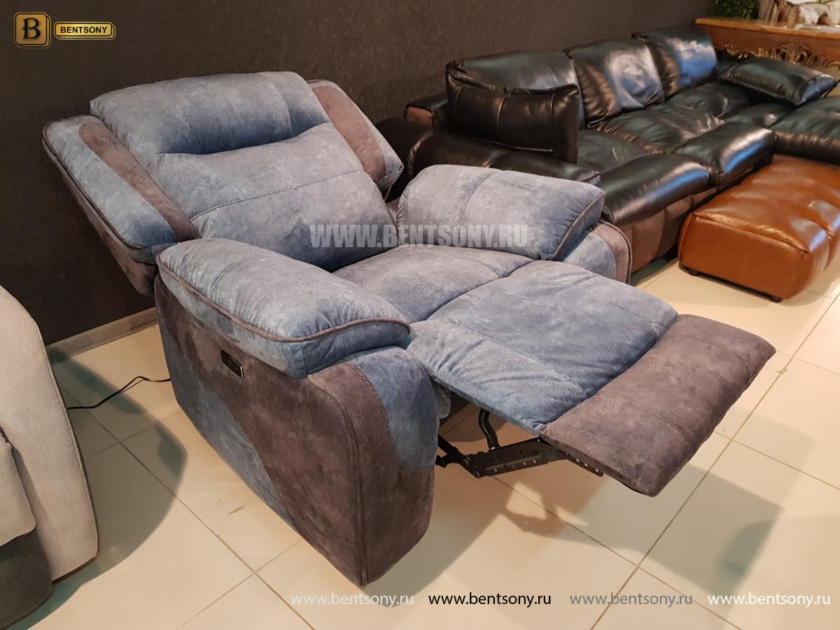 Кресло Аккордо (Ткань, реклайнер) магазин Москва