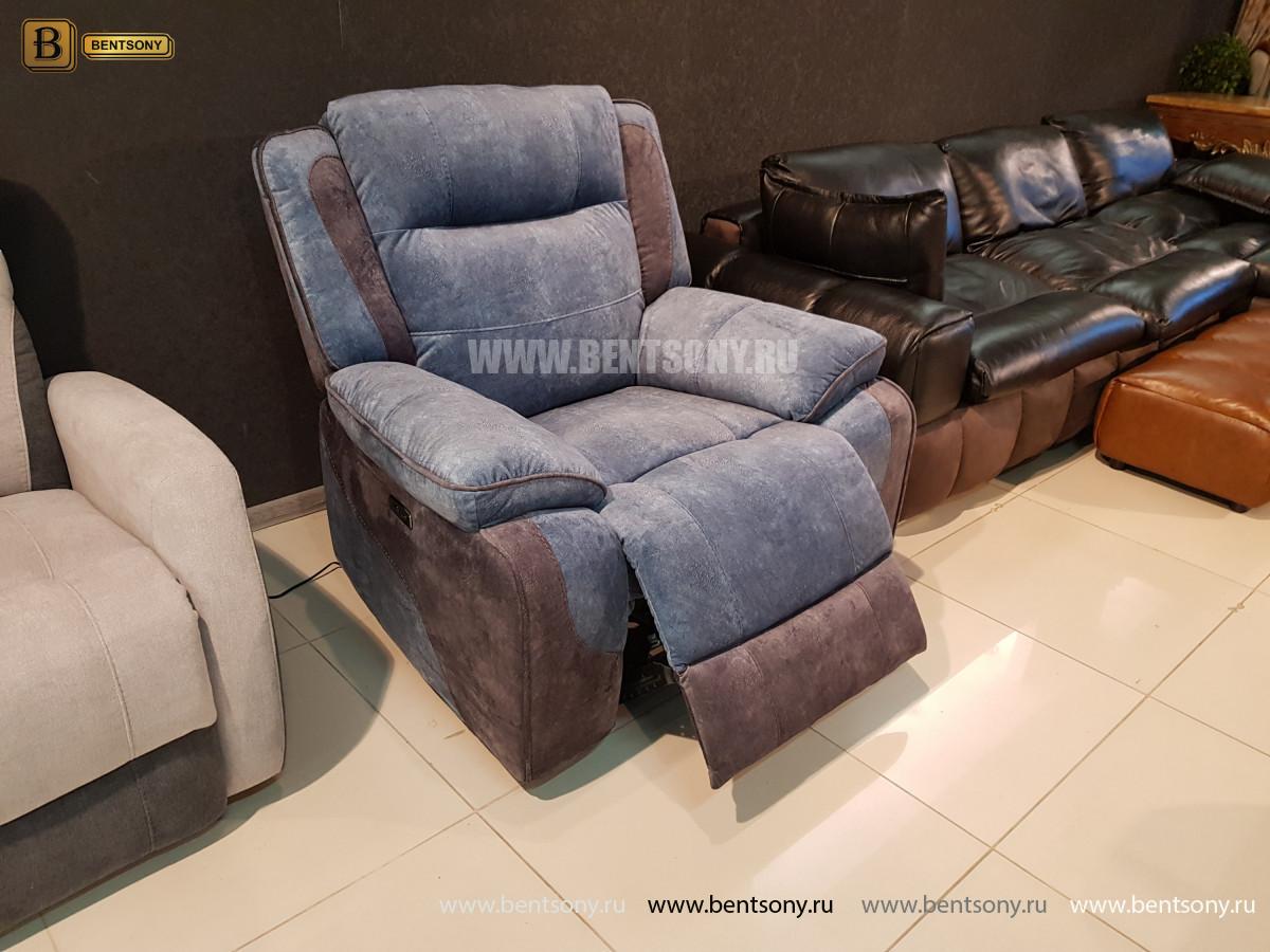 Кресло Аккордо (Ткань, реклайнер) официальный сайт цены