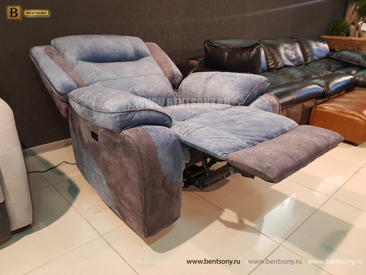 Кресло Аккордо (Ткань, реклайнер) каталог с ценами