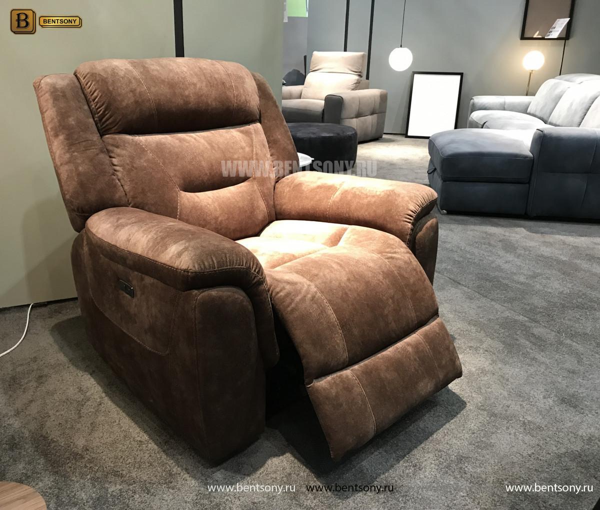 Кресло Бенкото (Реклайнер, Алькантара) сайт цены