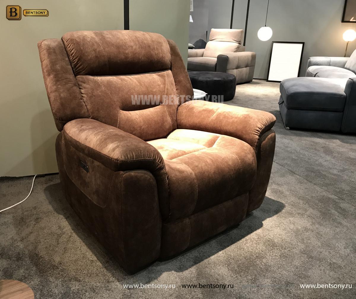 Кресло Бенкото (Реклайнер, Алькантара) для квартиры