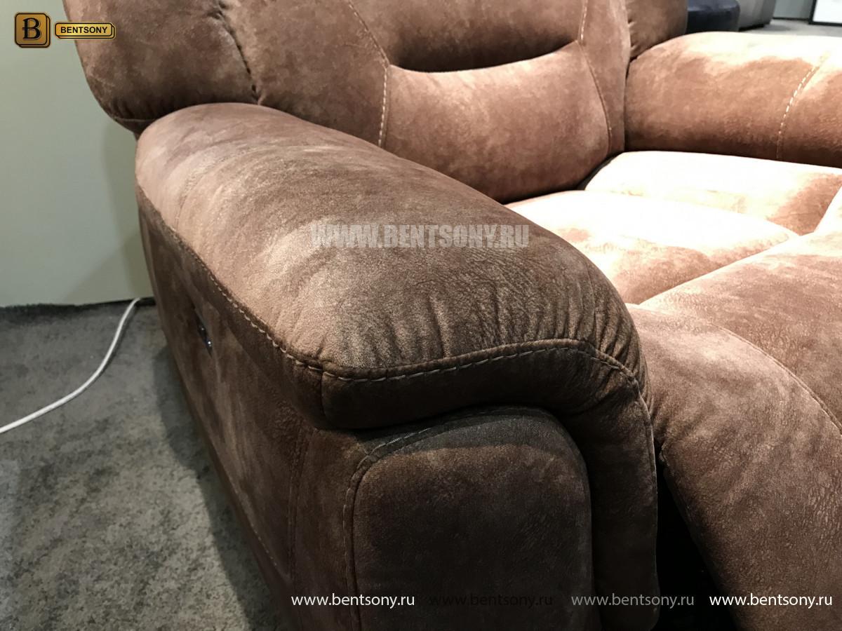 Кресло Бенкото (Реклайнер, Алькантара) изображение