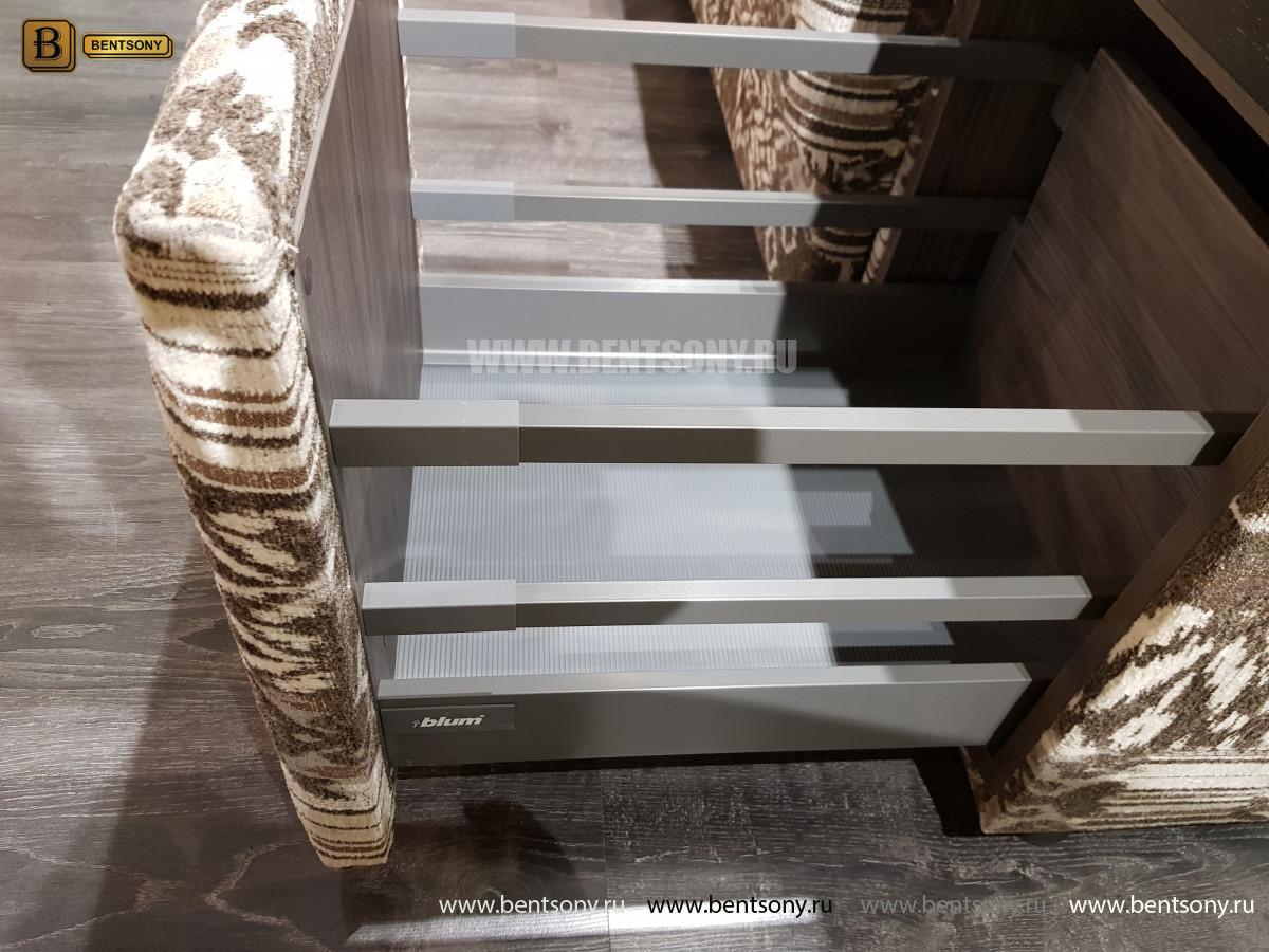 Угловой Диван Оксфорд с баром каталог мебели