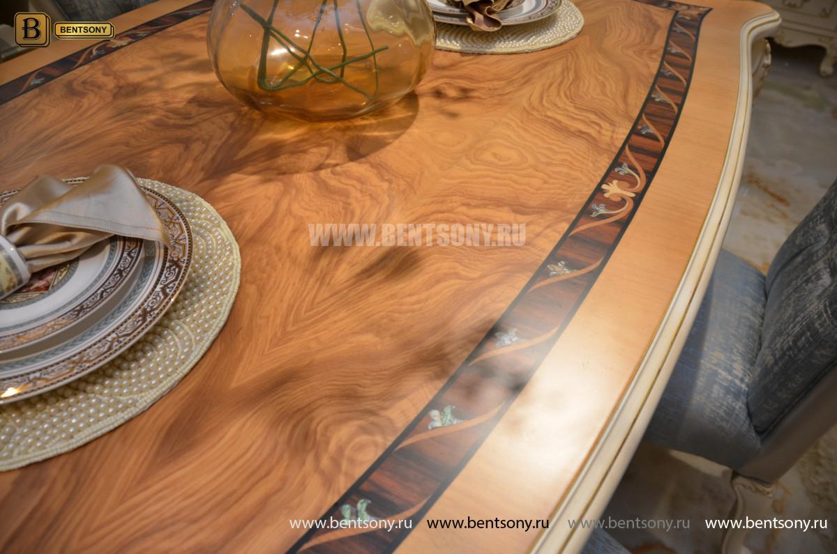Столовая Митчел 2 (Классика, массив дерева) фото